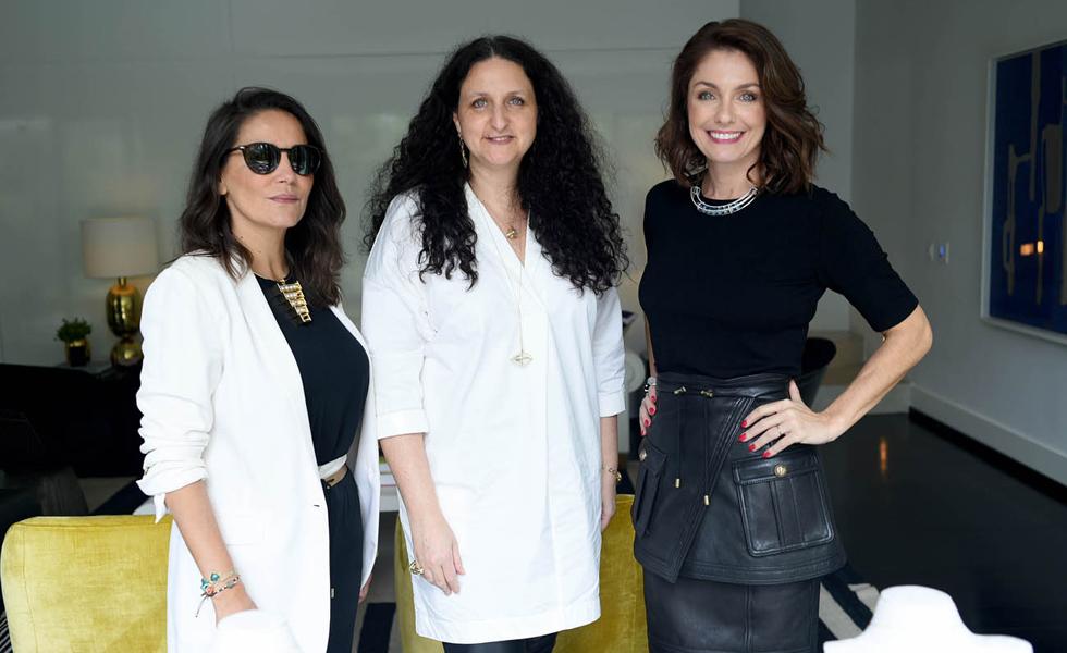 Isabella Giobbi, Yael Sonia e Camila Guebur