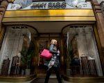 Fachada da Jimmy Choo na New Bond Street, em Londres