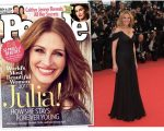 Julia Roberts: a mais bonita, segundo a 'People'