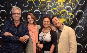 Lançamento da Fe-lis com exposição do artista Contente, no Rio. Aos cliques