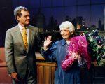 David Letterman com sua mãe, Dorothy Mengering
