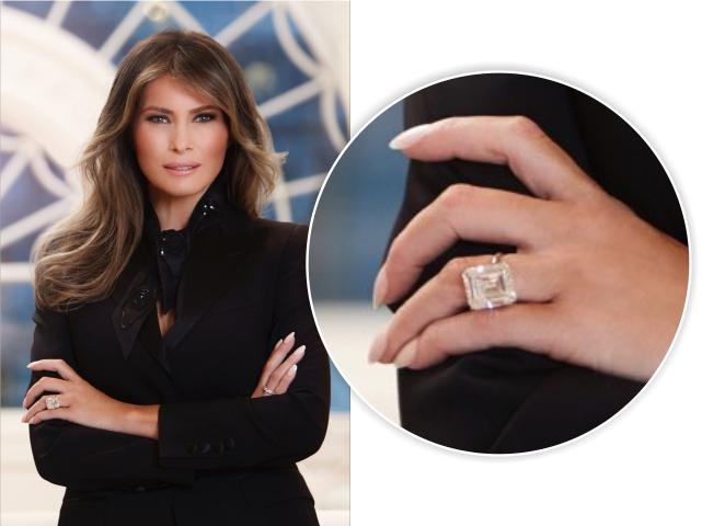 Melania Trump e o anel que está dando o que falar