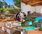Marilyn e a casa que comprou no início de 1962