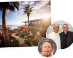 O hotel Nobu de Malibu, os sócios Matsuhisa e De Niro, e Larry Ellison