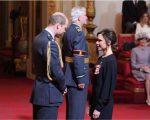O príncipe William com Victoria Beckham