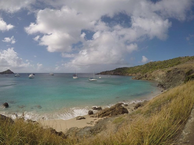 Praia de Colombier Saint Barth