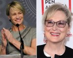 Robin Wright e Meryl Streep