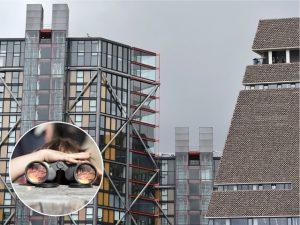 Vizinhos do Tate Modern, de Londres, estão sendo vítimas de voyeurismo