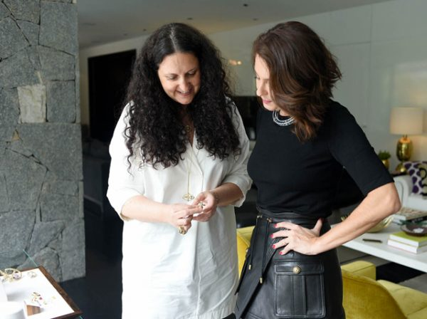 Yael Sonia e Camila Guebur