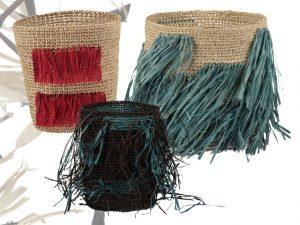Lá em Casa: feito à mão nos cachepôs Akra Collection