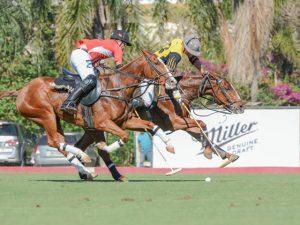Miller leva seu airstream para a final da Copa Cidade de polo em Indaiatuba