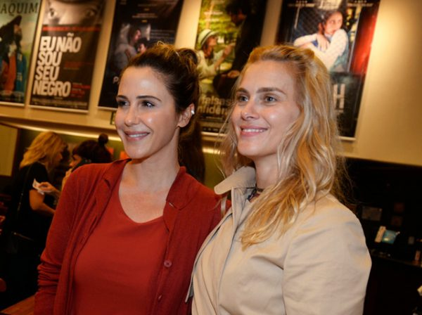 Guilhermina Guinle e Carolina Dieckmann