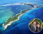 A ilha Bird Cay, e o casal David e Victoria Beckham