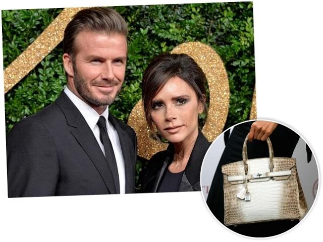 David e Victoria Beckham, e uma foto da Birkin raríssima || Créditos: Getty Images