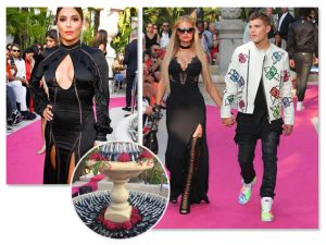 Com Paris Hilton na passarela, Philipp Plein faz desfile ostentação em Cannes