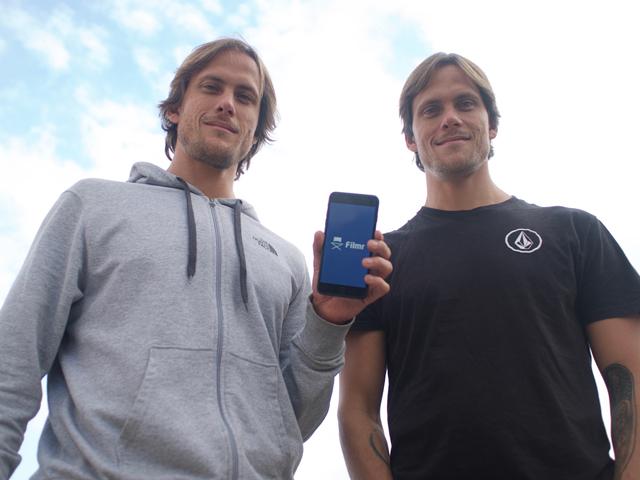 os gêmeos Fernando e Ricardo Whately Mattar, criadores do Filmr || Créditos: Divulgação \ Nina Keller