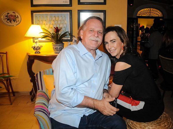 Claudio Edinger e Betina Samaia