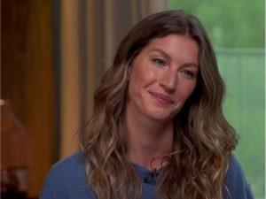 Gisele deixa escapar em entrevista que Tom Brady teve uma concussão