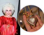 Liz Taylor e o colar de diamante