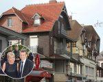 A casa de Emmanuel e Brigitte Macron em Le Touquet