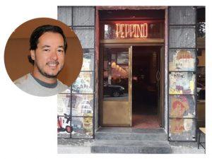 Fachada do Peppino Bar vai passar por transformação artsy