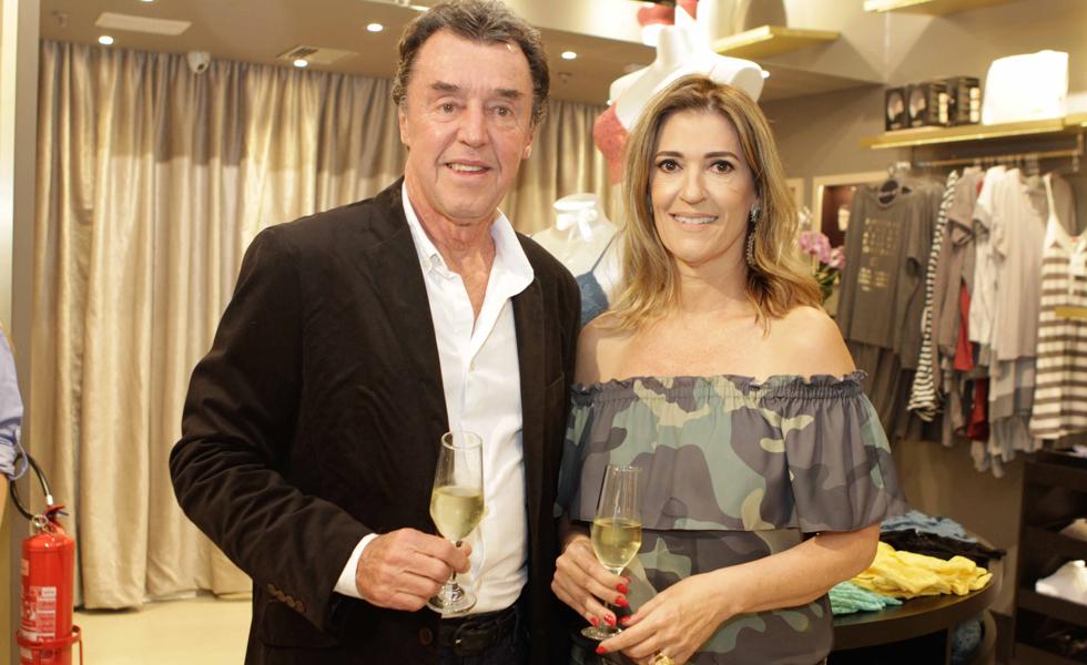 Ruy Fernandes e Maria Clara Guimarães