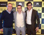 Tato Gabus Mendes, Emílio Orciollo Netto e Juliano Cazarré