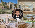 The Weeknd e seu novo lar na Califórnia