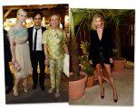 Elle Fanning, Gael García Bernal e Miuccia Prada, a top Anja Rubik também marcou presença