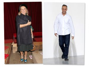 Miuccia Prada e Francisco Costa: os aniversariantes do dia!