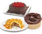 Tortinhas de chocolate, o colo encantado e o bolo de nozes com damasco são as dicas da Amor  aos Pedaços