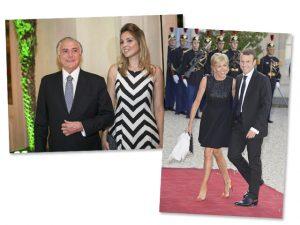 As diferenças que unem Temer e Macron, e suas respectivas mulheres