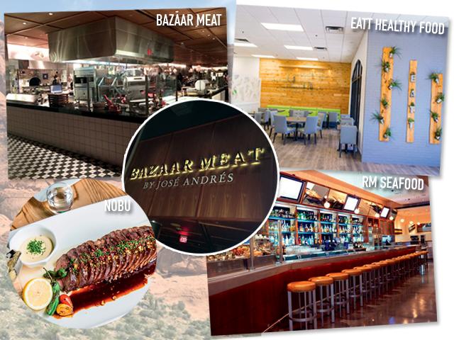Bazaar Meat, Eat Healthy Food, RM Seafood e Nobu são as dicas em Las Vegas