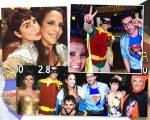 Ivete com Fernanda Paes Leme, Astrid com Reynaldo Gianecchini e Ricardo Tozzi e a turma toda reunida na festa à fantasia que a cantora armou na sexta-feira, em Salvador