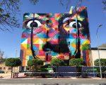 """Mural """"Dalí"""", em Múrcia, na Espanha"""