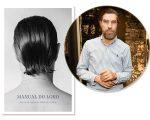 "Fabrizio Rollo e a capa do livro ""Manual do Lord – Dicas de Ouro de Fabrizio Rollo"""