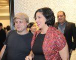 Chris Von Ameln e Ana Luiz Trajano