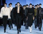 Desfile Haider Ackermann durante a semana de moda de Paris em março deste ano