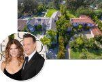 Tom Hanks e Rita Wilson, e as mansões em LA