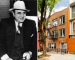 Al Capone e a townhouse onde ele morou no Brooklyn, em NY