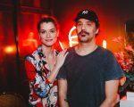 Alinne Moraes e Mauro Lima