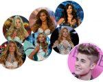 Bieber e as Angels da VS que ele mencionou no Twitter