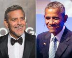 George Clooney e Barack Obama