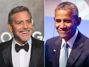 Obama foi dos primeiros a ligar para os Clooney dando parabéns pelos gêmeos