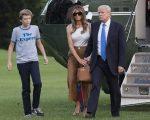 Donald Trump, Melania Trump e Barron Trump