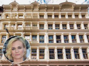 Diane Kruger e seu novo endereço no TriBeCa