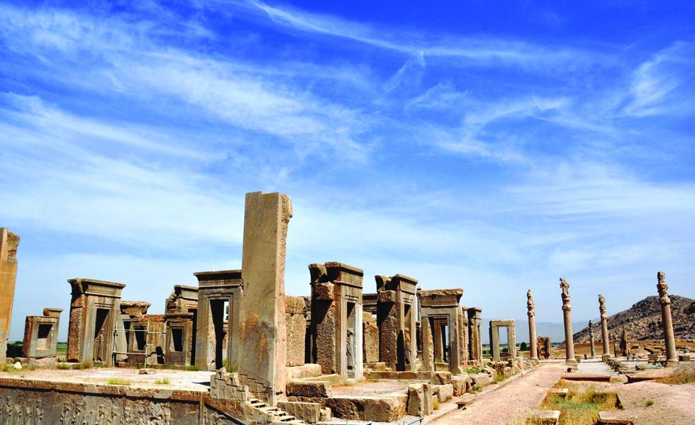 Portão de todas as Nações, em Persépolis