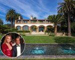 O endereço atual do casal, em Malibu