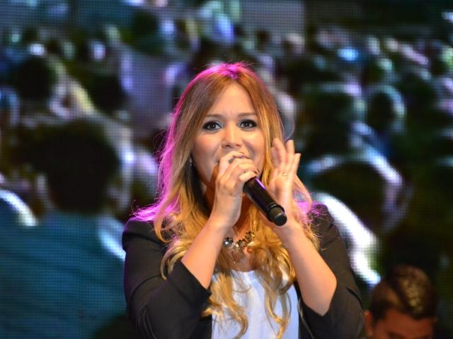 A cantora de cumbia Karina || Créditos: Divulgação
