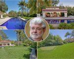 George Lucas e seu novo endereço em LA